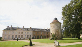 The Chateau and Pigeon house l'Hermenault