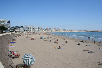 le Grand plage at Les Sables d'Olonne