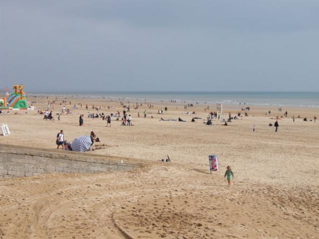 St Jean de Monts beach with the tide out