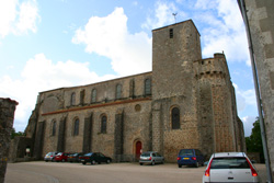 Priory church of St Nicholas, La-Chaize-le-Vicomte.