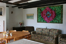 lounge in the frene cottage @ lagrange Gites, Vendee