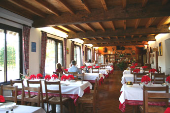 In the Heart of the Mervent Forest is  La Joletiere Restaurant.