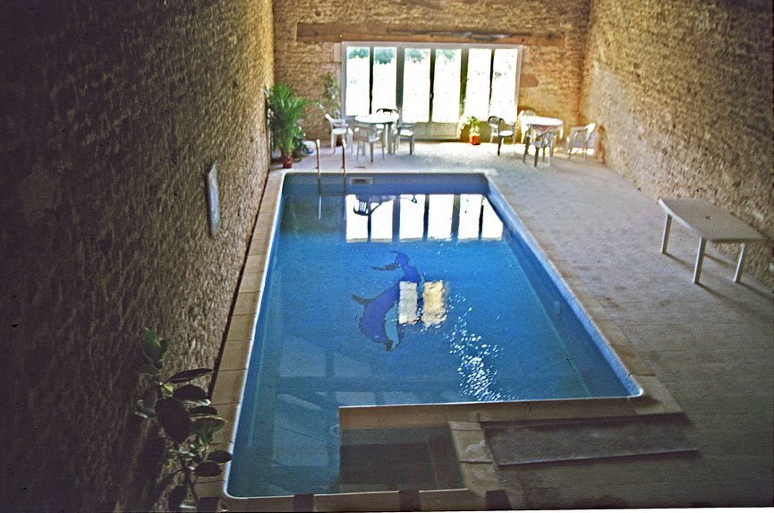 Barn Swimming pool
