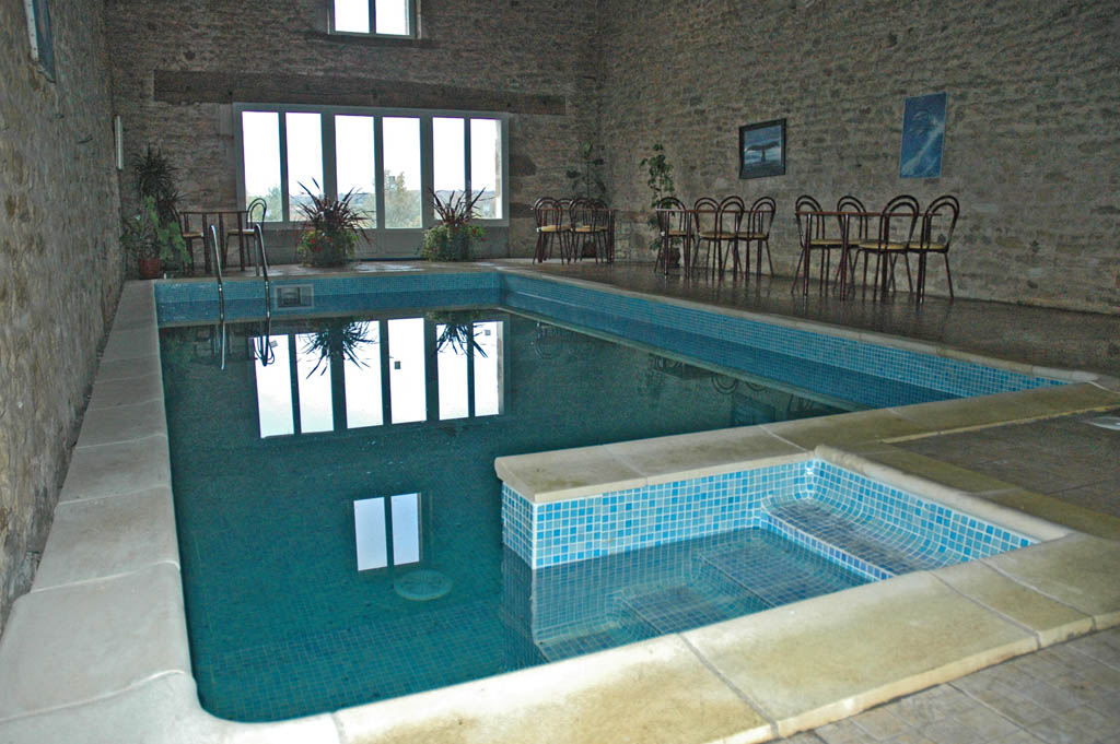 indoor pool low
