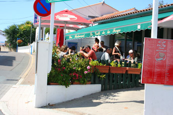 dining out at La Forge in La Tranche sur Mer