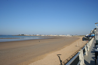 The Grand Plage at St Gilles Croix de Vie