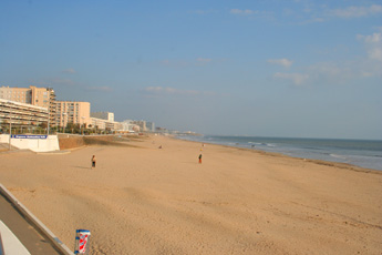 Beaches in the Vendee | The beach at St. Jean de Mont
