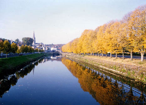 Vendee images - The river Vendee at Fontenay le Comte